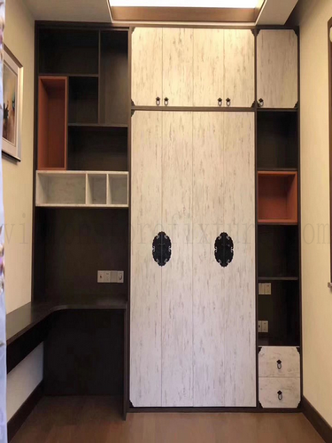 Bedroom Wardrobe Wall Bed Combination customized cabinet